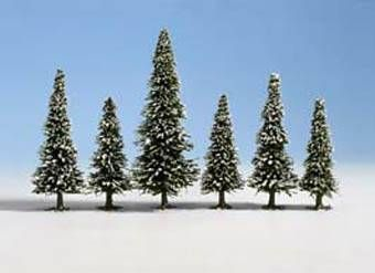 Noch 26428 -Ten Snow Fir Trees